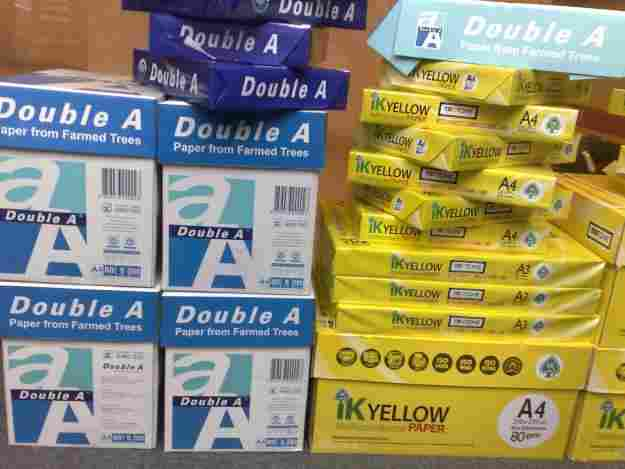 Double A4 Copy paper 80gsm , Xeros multipurpose copy paper , Chamex copy paper holon